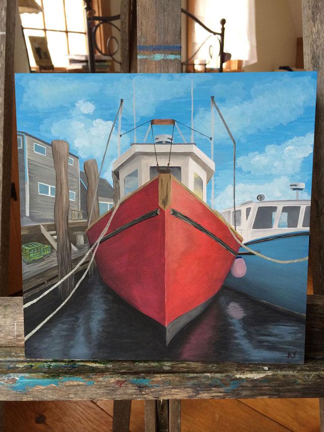 Kateryna Yermakova –Fishing Boat